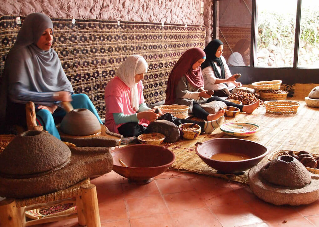 Lavorazione olio d'argan | Elisirdargan.com